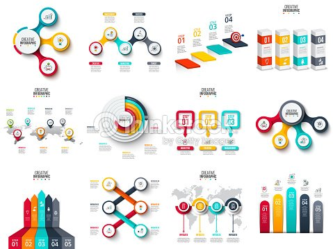 Vector infographics diagram chart graph and presentation business vector infographics diagram chart graph and presentation business report with 3 ccuart Images