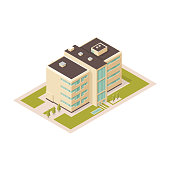 Collection of urban Housing elements.