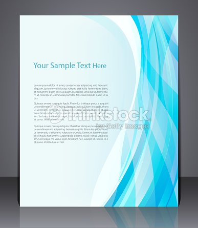 Vector Layout Business Flyer Magazine Cover Template Or Corporate Banner Vector Art Thinkstock