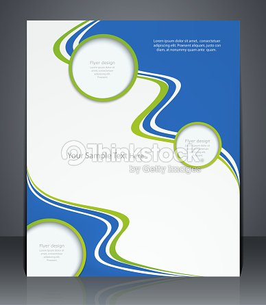 Vector Layout Flyer Magazine Cover Or Corporate Design Template ...