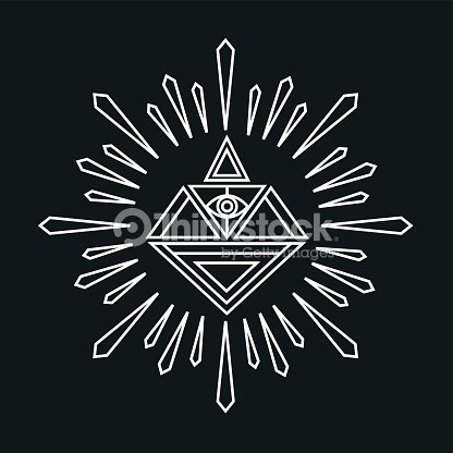 Vector linear abstract hipster logo template magical diamond vector vector linear abstract hipster logo template magical diamond vector art maxwellsz