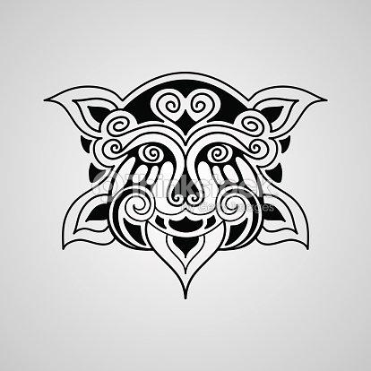 vector leão tatuagem desenho arte vetorial thinkstock