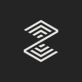 Modern Vector Logo Letter Z. Z Letter Design Vector