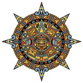 Calendario Maya Vector.Vector Maya Ornament Vector Art Thinkstock