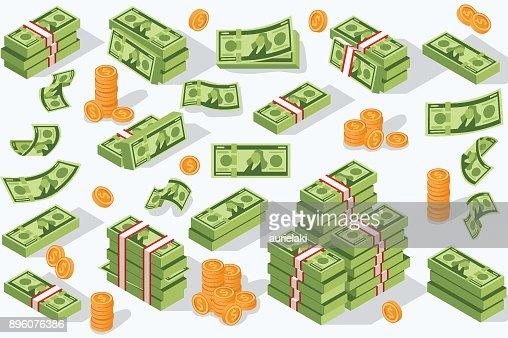 Vector Money Currency : stock vector