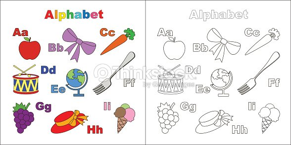 Vector object alphabet cute alphabet in vector objects vector art vector object alphabet cute alphabet in vector objects vector art altavistaventures Images