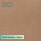 Vector cardboard texture. Phototexture for your design