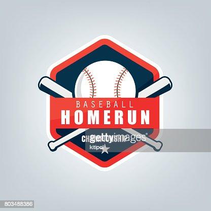 Vector of Baseball sport team  design : stock vector