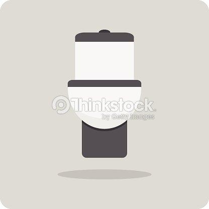 Vector of flat icon  toilet   Vector Art. Vector Of Flat Icon Toilet Vector Art   Thinkstock