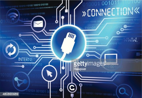 Vector Of Usb Connection System Vector Art | Thinkstock