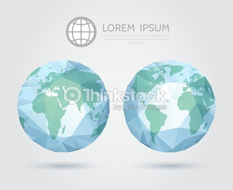 Vector polygonal globe 3d triangular world map of the earth vector vector polygonal globe 3d triangular world map of the earth vector art gumiabroncs Gallery