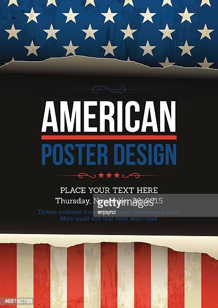 U.S.A Vektor-poster-design