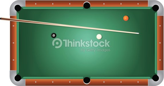 Vector realistic billiards pool table green felt - Pool table green felt ...