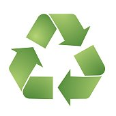Recycle , circle, natural, green, ecology, recycling set of round symbol icon vector design