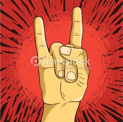 Vector Rock N Roll Symbol Vector Art Thinkstock