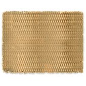 Vector Sackcloth texture isolated on white background