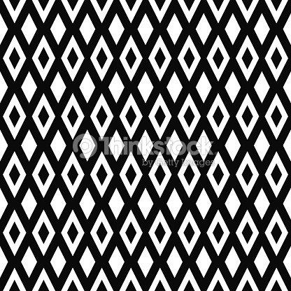 motif g om trique sans soudure de vecteur texture de losanges fond noir et blanc monochrome. Black Bedroom Furniture Sets. Home Design Ideas