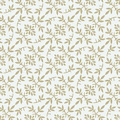 Vector seamless pattern. Luxury stylish texture. Pattern can be used as a background, wallpaper, wrapper, page fill, element of ornate decoration