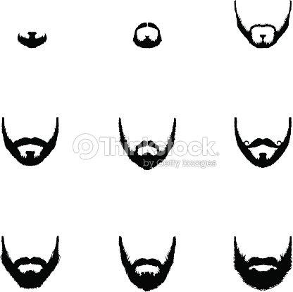 Beard outline - photo#28