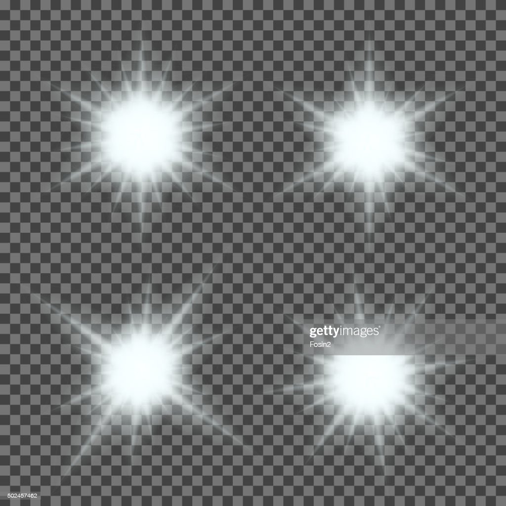 vector set of glowing light bursts with sparkles on transparent vector id502457462?s=170x170&w=1007 vector set of glowing light bursts with sparkles on transparent