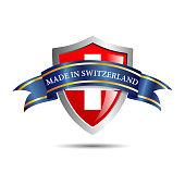 Vector shield made in Switzerland