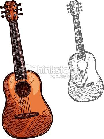 Guitarra Acustica Dibujo - 2018 images & pictures - Guitarra ...