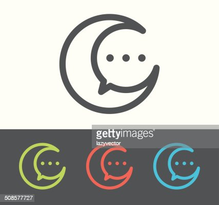 Vector speech bubble icon : Vector Art