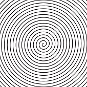Vector spiral background.