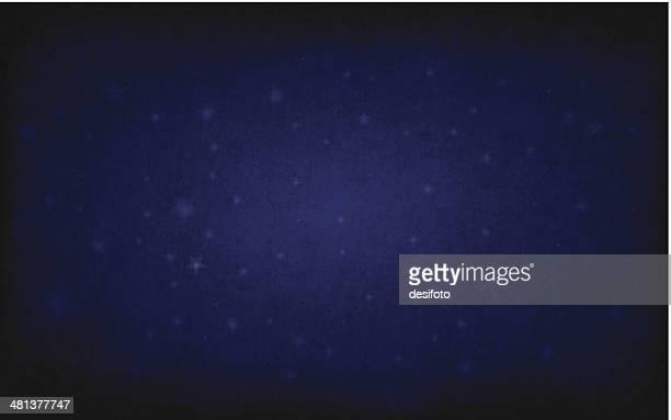 Vector Starry Blackboard