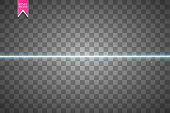 Vector Starry Light Background. Blue Glowing Lines. Speed Motion Effect. Sparkle Glitter Trail. EPS 10.
