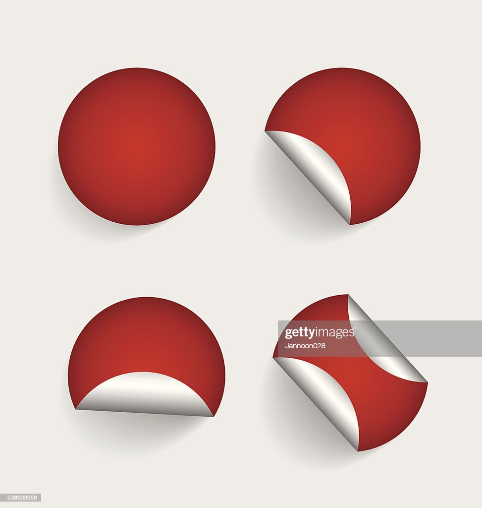 Vector sticker. : Vector Art