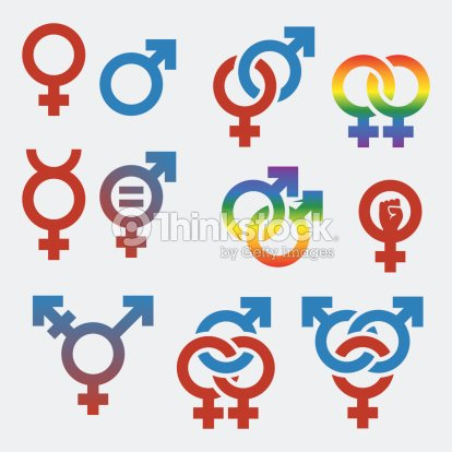 Vector Symbols Of Sexual Orientation And Gender Vector Art Thinkstock