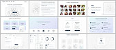 Vector templates for website design, minimal presentations, portfolio. UI, UX, GUI. Design of headers, dashboard, contact forms, features, pricing, e-commerce page, blog etc. Social network concept.