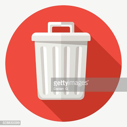 Vector trash icon : stock vector