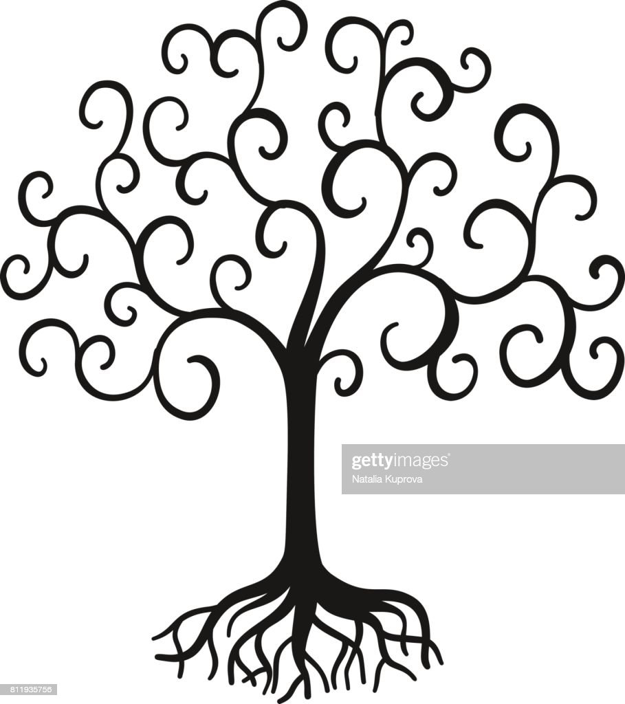 vector tree of life vector art thinkstock rh thinkstockphotos com tree of life vector free download tree of life vector equilibrium vortex