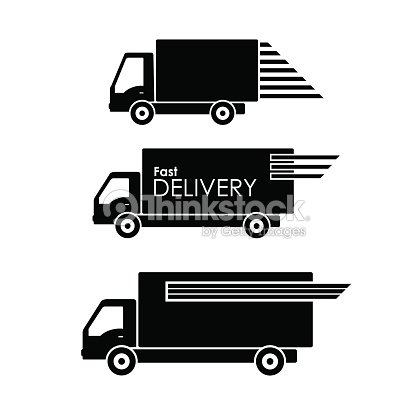 delivery truck icon vector - photo #23
