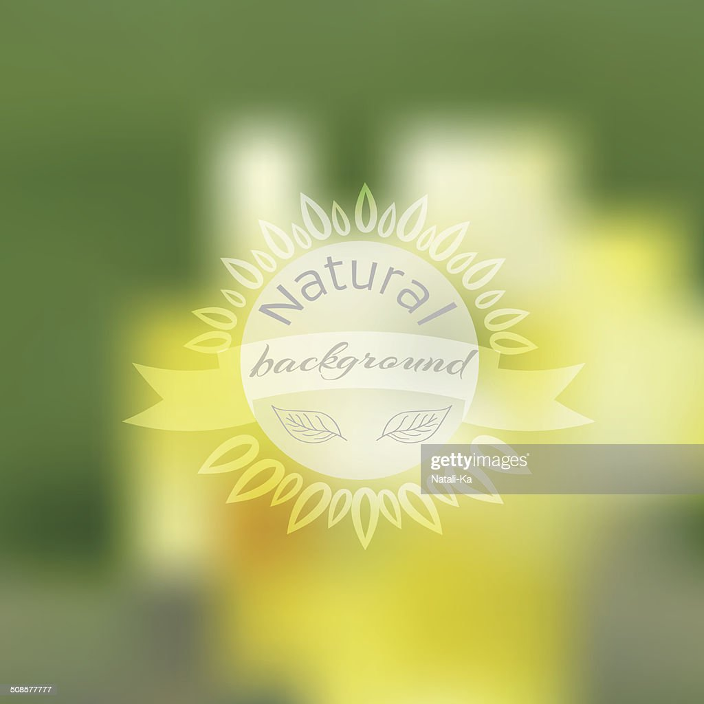 Vector unfocused summer travel background : Vectorkunst