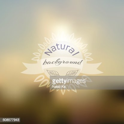 Vector unfocused summer travel background : Vektorgrafik