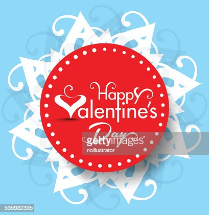 Vector valentine day Text Background Illustration : Vector Art