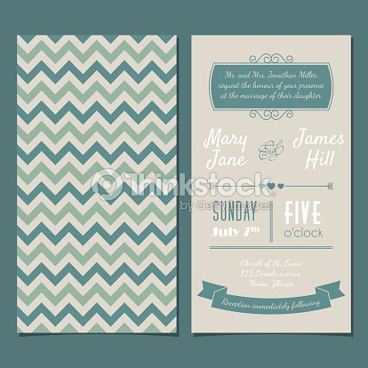 Vector vintage invitation card with background zigzag vector art vector vintage invitation card with background zigzag vector art stopboris Images