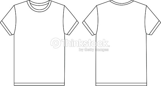vector white tshirt template mockup vector art thinkstock