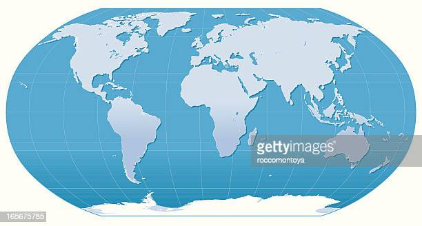 Carte du monde illustration