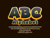 Bright 3D Font