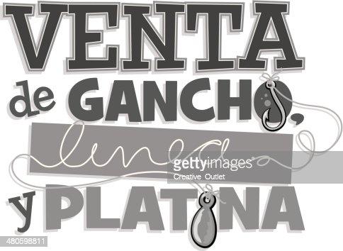 Venta Heading : Vector Art