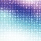 Disco vector background. Vertical mosaic with light spots