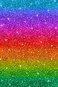 Vertical multicolored glitter abstract background, rainbow colors