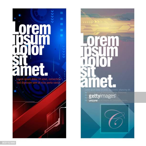 Vertical Technical Banners
