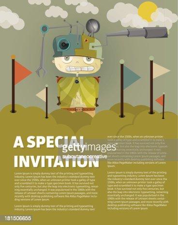 Very special invitation vector art getty images very special invitation vector art stopboris Choice Image