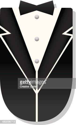 Vest Tie : Vector Art