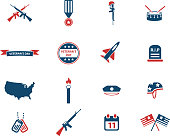 Veterans day simply icons. See also:
